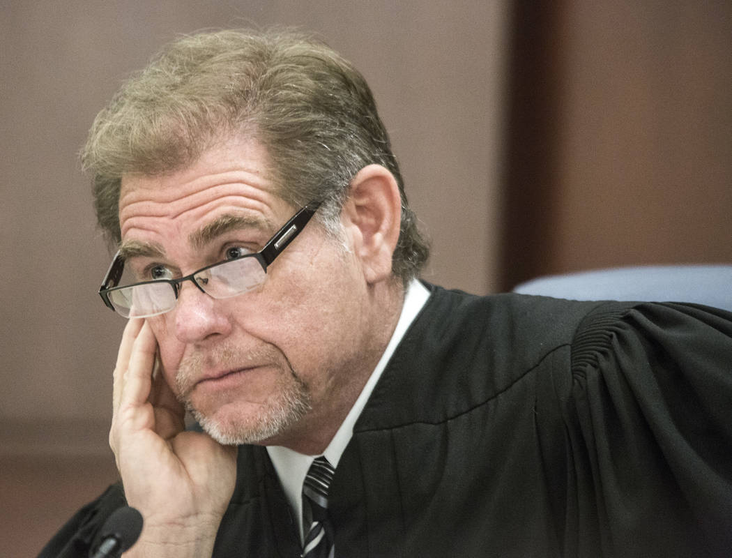 Justice Ron Parraguirre listens on July 29, 2016, during oral arguments on school choice at the ...