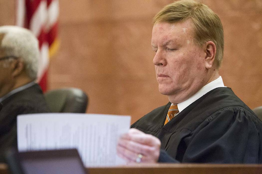 Nevada Supreme Court Justice Mark Gibbons has announced he will not seek reelection to his post ...