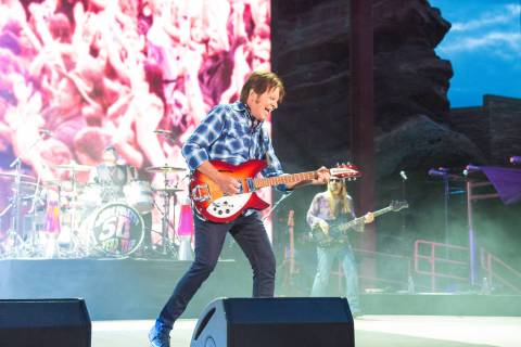 John Fogerty plays Red Rocks Amphitheater in Colorado on June 20, 2019. (Yegor Borisenko)