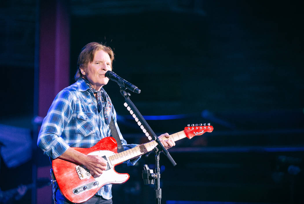 John Fogerty plays Red Rocks Amphitheater in Colorado on June 20, 2019. (Yegor Borisenko)