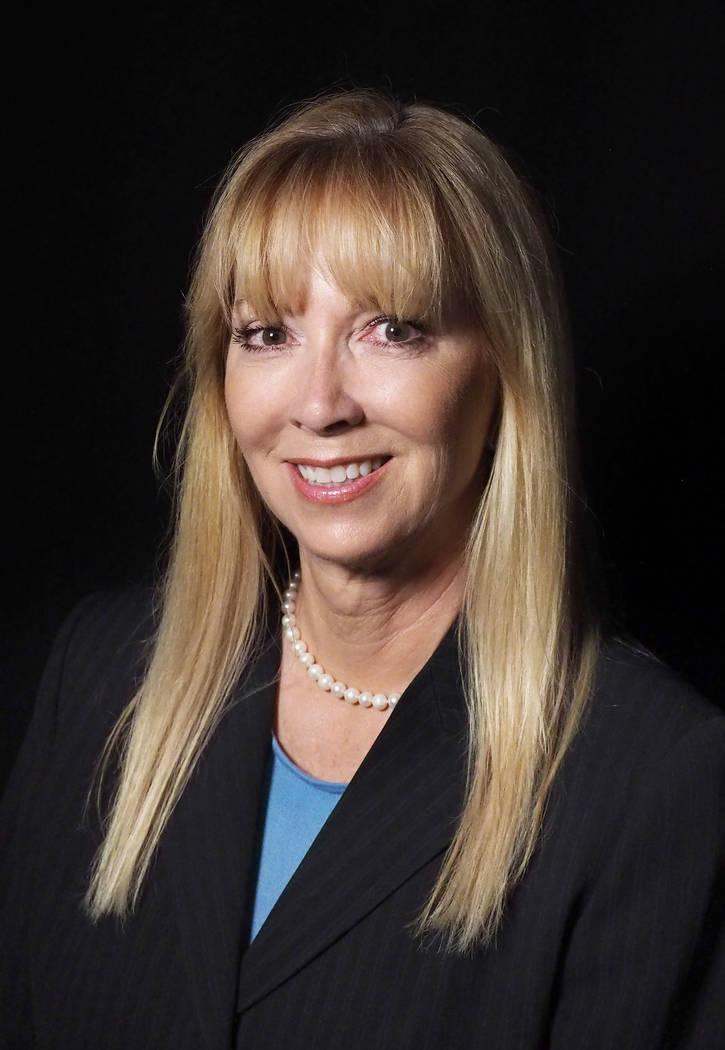 Las Vegas Justice of the Peace Suzan Baucum in 2016. (Jerry Henkel/Las Vegas Review-Journal)
