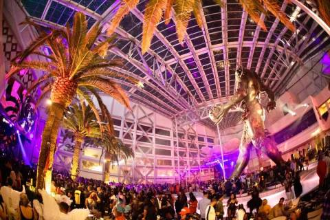 """Demon Dome"" part on Halloween during her ""Demon Dome"" party at Kaos Nightclub and Dayclub. (Me ..."