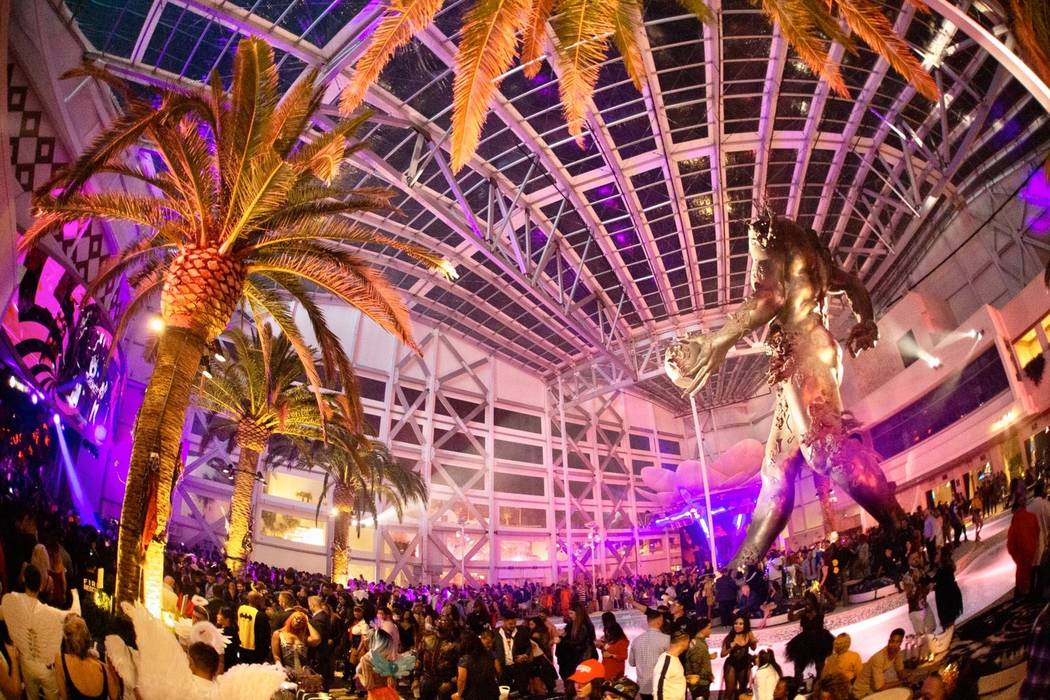 """""""Demon Dome"""" part on Halloween during her """"Demon Dome"""" party at Kaos Nightclub and Dayclub. (Me ..."""