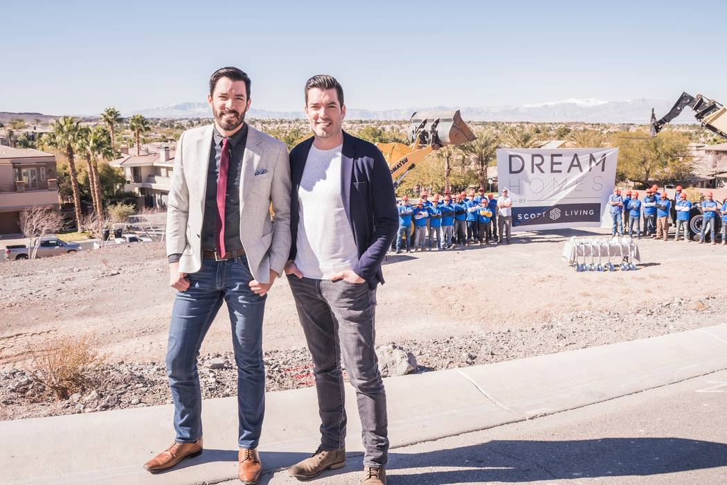 Property Brothers Early this year, Drew and Jonathan Scott broke ground on their first Dream Ho ...
