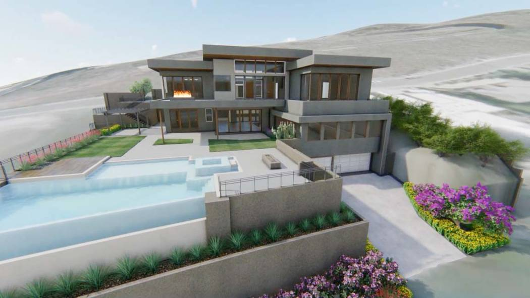 Property Brothers This artist's rendering shows what the Property Brother's Dream Home will loo ...