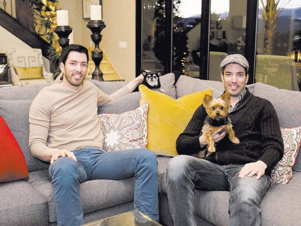 """Jonathan and Drew Scott, who star on the HGTV's """"Property Brothers,"""" talk about their new ventu ..."""