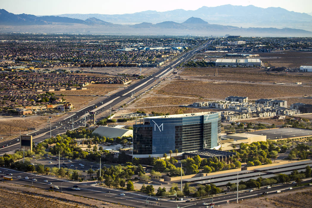 The M Resort along St. Rose Parkway on Wednesday, Oct. 16, 2019, in Las Vegas. (L.E. Baskow/Las ...