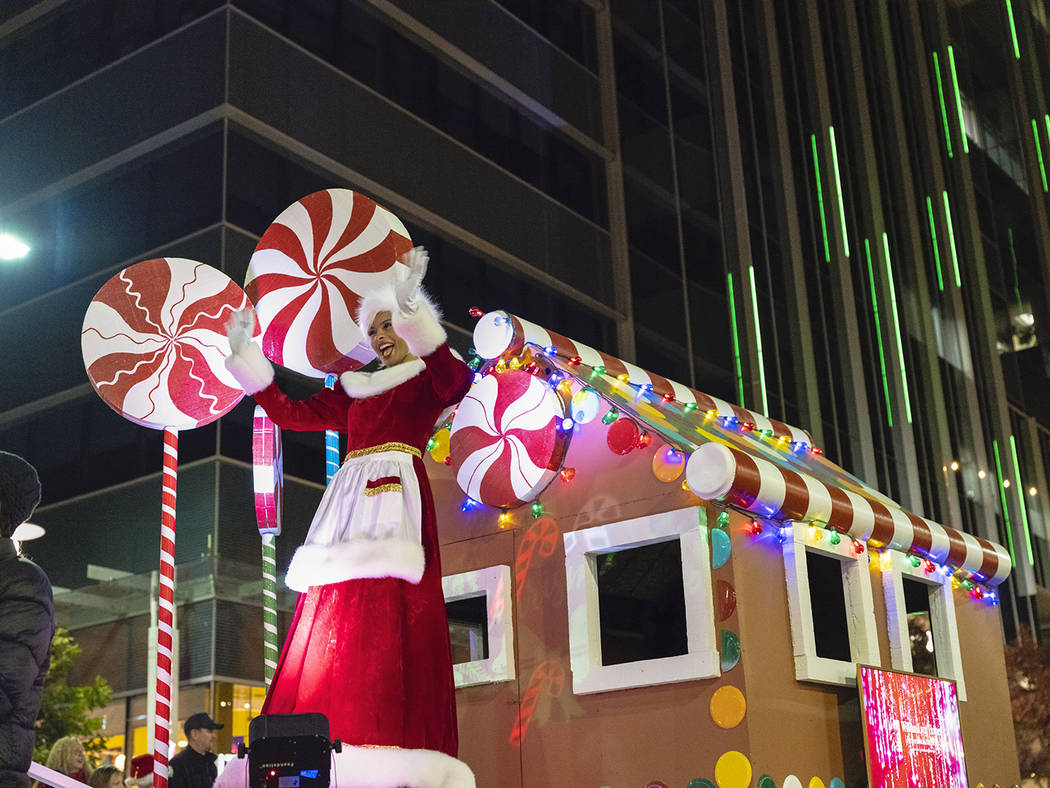 The 2019 holiday season in the master-planned community of Summerlin kicks off at Downtown Summ ...