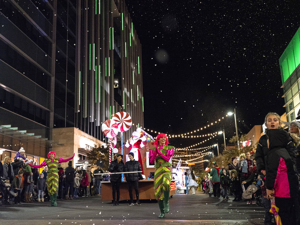 Downtown Summerlin will hold a holiday parade Nov. 15. (Summerlin)