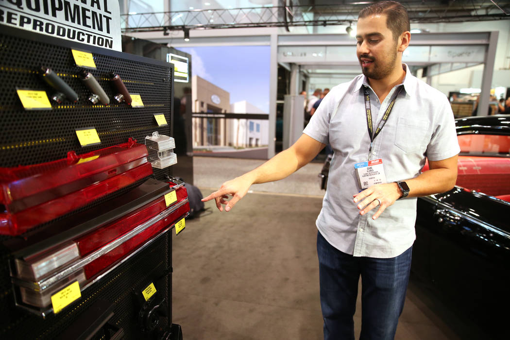 Gabe Flores, brand manager for Original Equipment Reproduction, talks about new products for OE ...