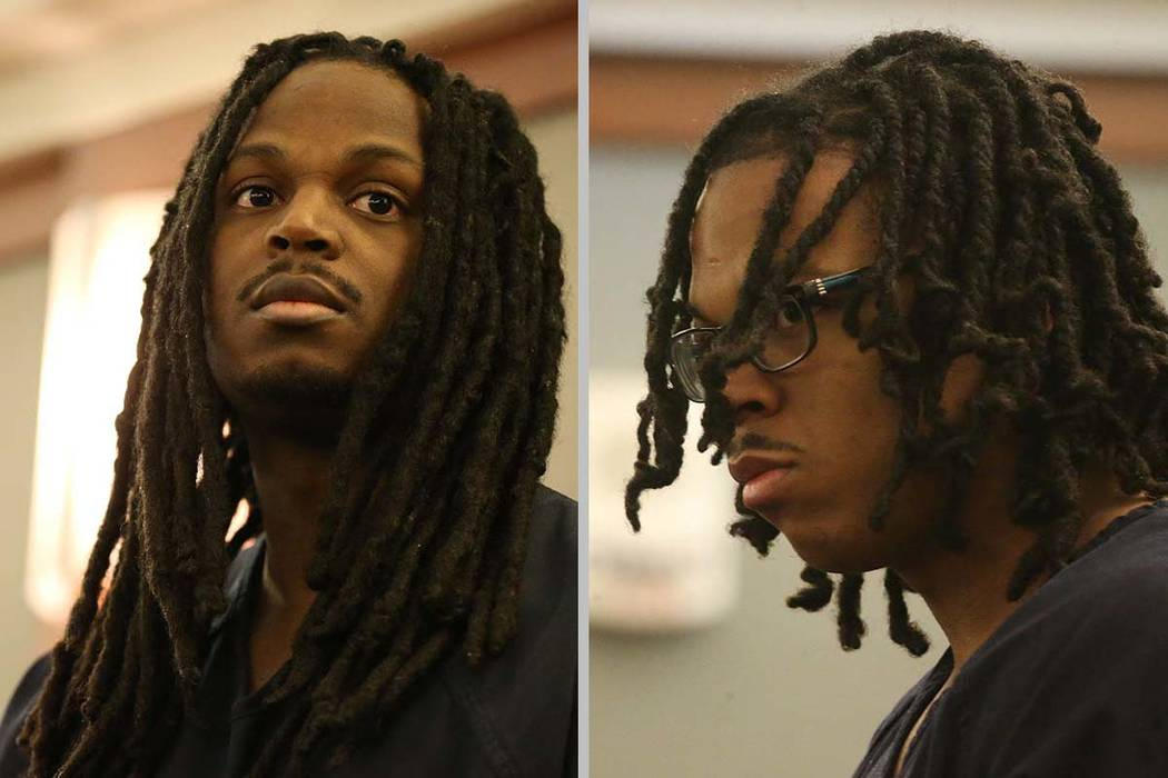 Lee Murray Sykes, left, and Lee Dominic Sykes, charged in the death of Matthew Christensen, dur ...