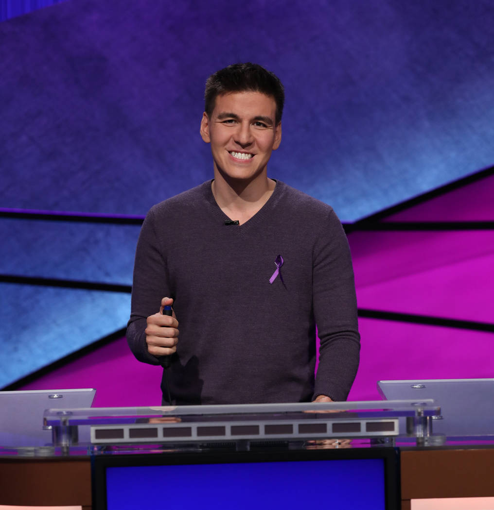 "James Holzhauer competes in the ""Jeopardy!"" Tournament of Champions. (Jeopardy Productions, Inc)"