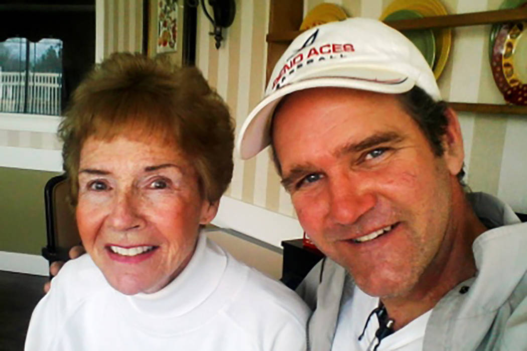 Susan Hillygus and her son, Roger, in an undated photo posted to a website that advocates for v ...