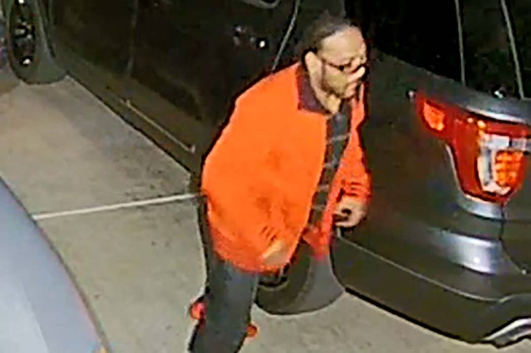 A video camera caught a man casing cars at an unknown Henderson neighborhood overnight on Thurs ...
