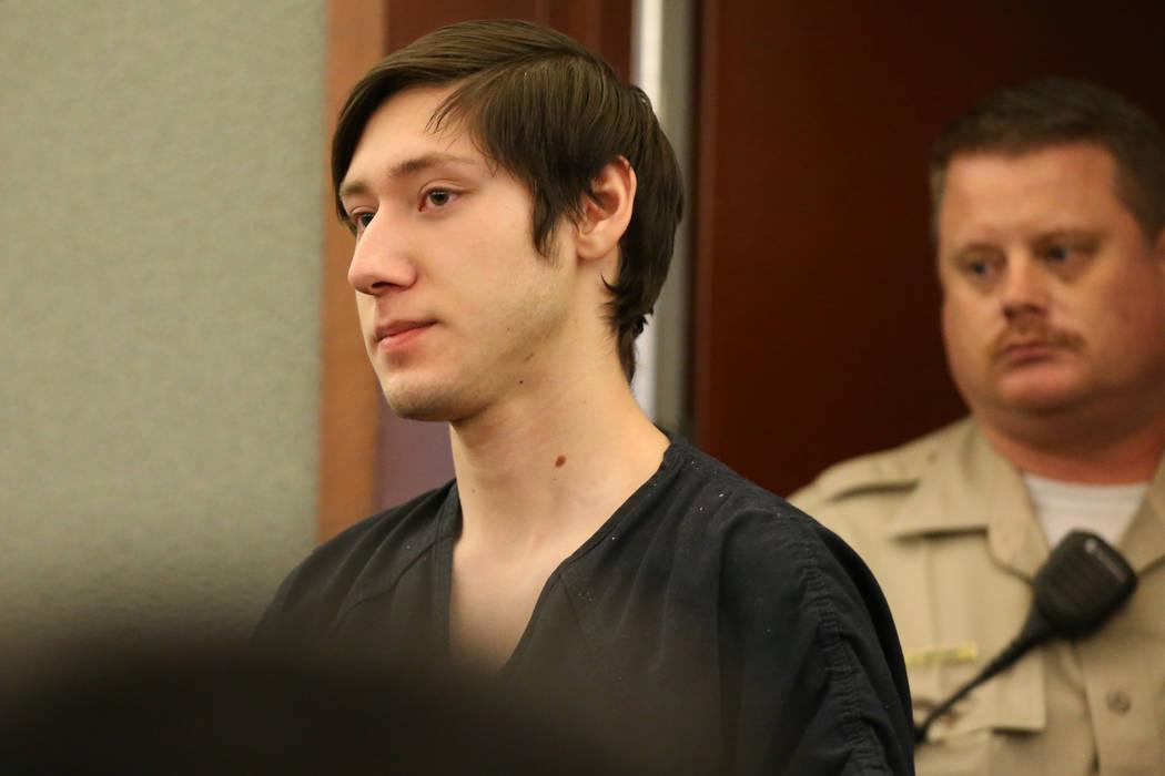 Giovanni Ruiz, accused of raping and killing UNLV student Paula Davis, appears at the Regional ...