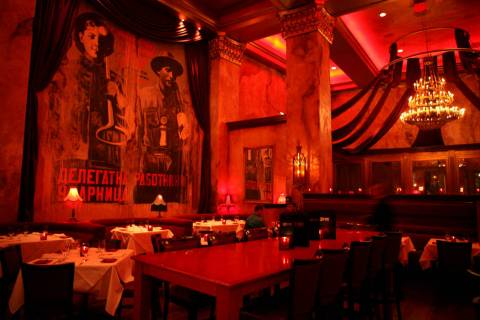 Red Square restaurant inside the Mandalay Bay hotel-casino is shown Friday, July 6, 2007, in La ...