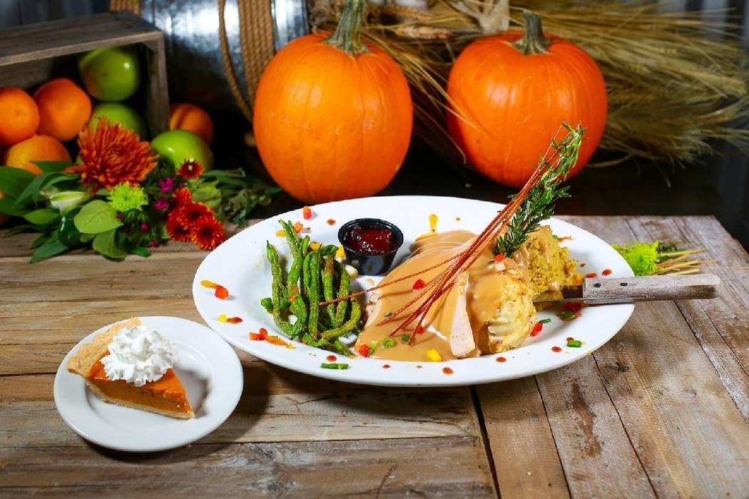 Thanksgiving dinner at Hash House A Go Go (Hash House A Go Go)