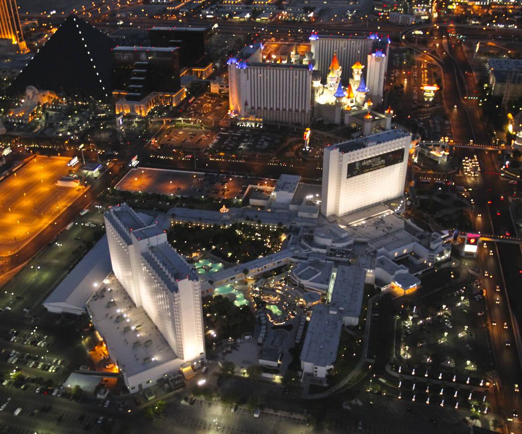 The Tropicana on the Las Vegas Strip. (Las Vegas Review-Journal)