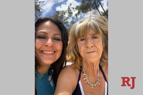 Kiayah Water, left, is pictured with her mother, Judith Schnepf. Schnepf went missing in Las Ve ...