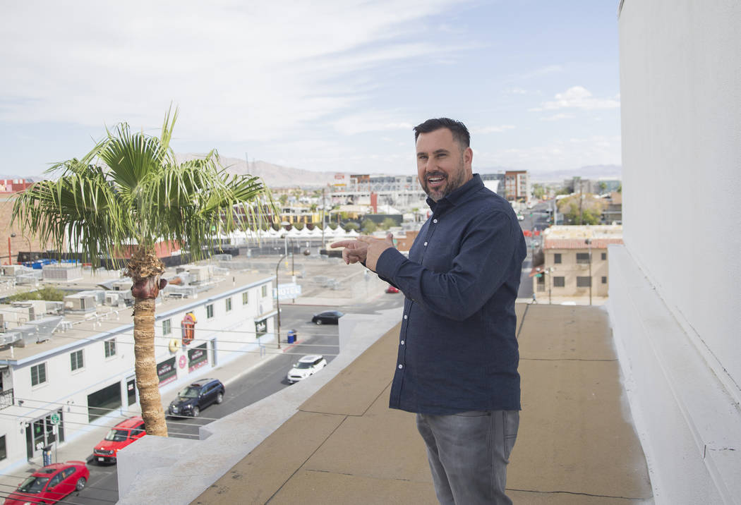 Developer J Dapper discusses his plans for his newly acquired property at 201 Las Vegas Blvd. o ...