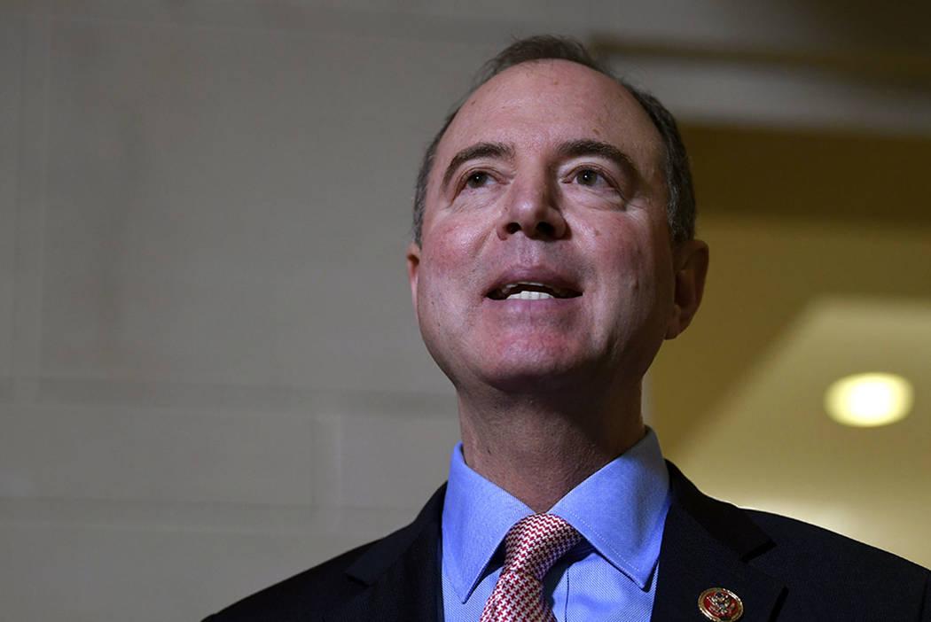 House Intelligence Committee Chairman Adam Schiff, D-Calif. (AP Photo/Susan Walsh)