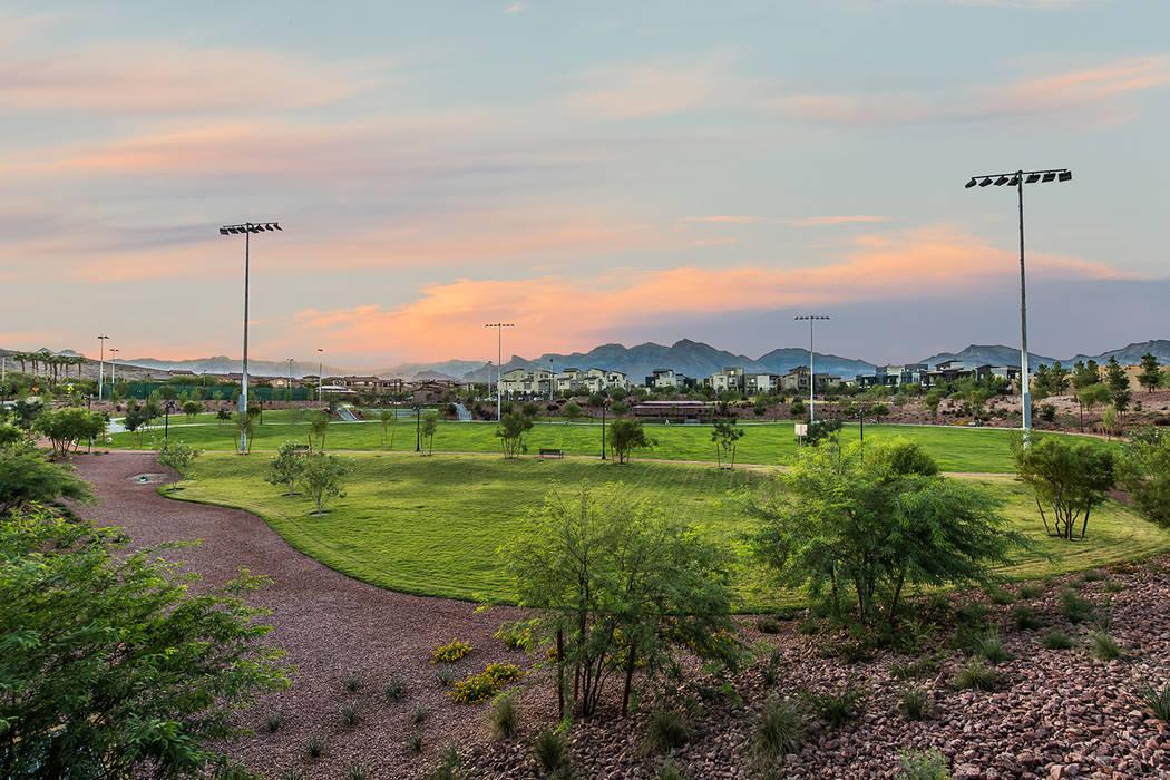Sagemont Park in Summerlin Centre spans nearly 10 acres. (Summerlin)