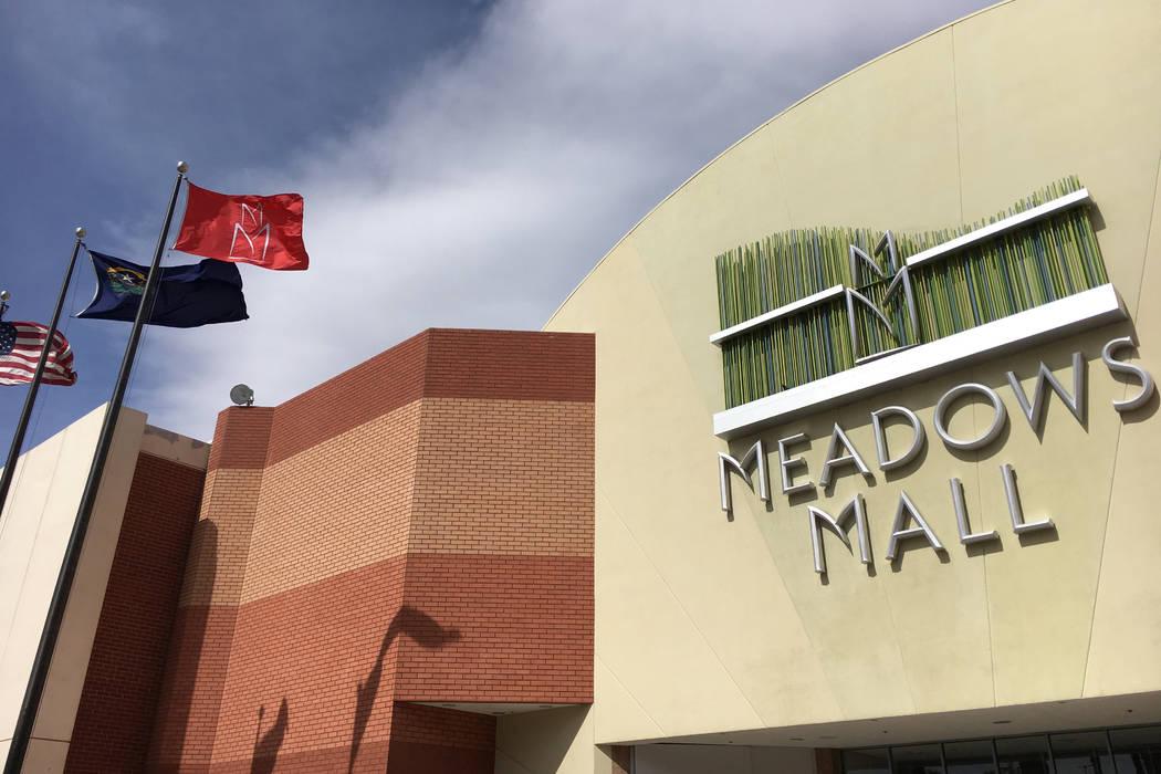 Meadows Mall at 4300 Meadows Lane (Ashley Casper/Las Vegas Review-Journal) @TheCasperA