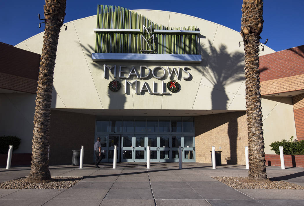 Meadows Mall in Las Vegas, Monday, Nov. 11, 2019. Sears announced it will close their location ...
