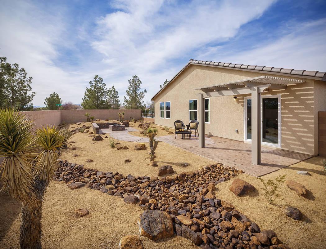 Burson Ranch features single-story living. (Mark Skalny Beazer Homes)