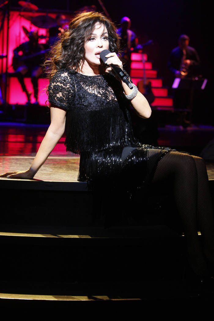 Marie Osmond performs a solo set of Broadway show tunes during a May 25, 2011 show at the Flami ...