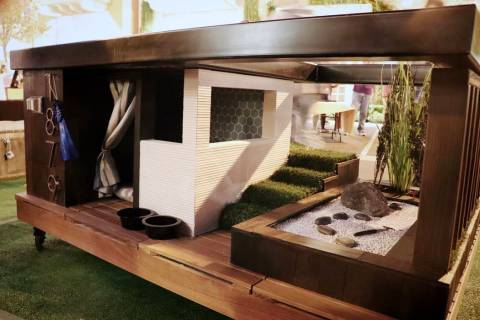 Henderson-based Luxus DESIGN BUILD took first place for its custom doghouse at the inaugural Do ...