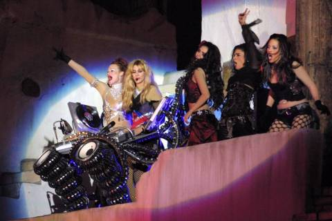 "The revamped show, ""Sirens of TI,"" opened in October 2003 and featured female sirens and ran un ..."
