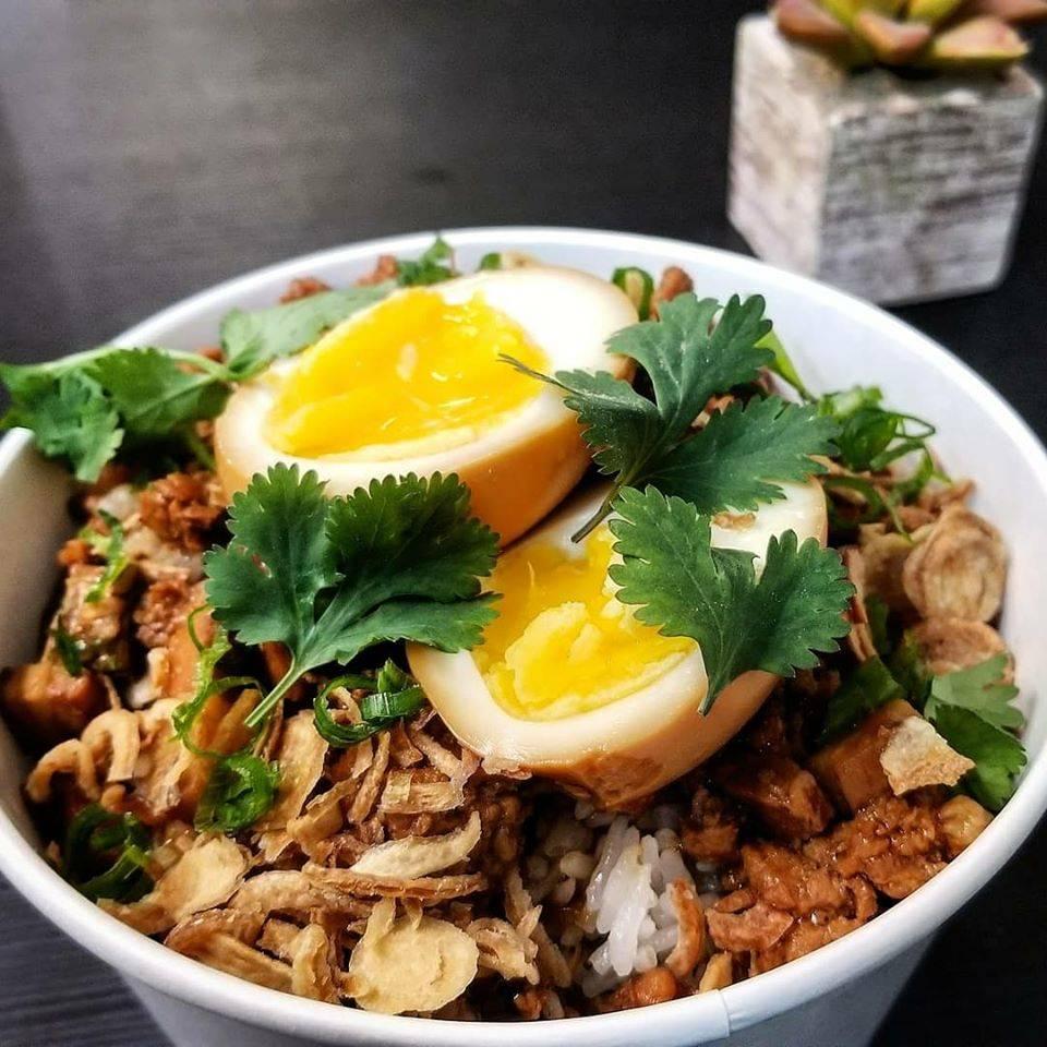 Braised Pork Rice with Soy Egg at Every Grain. (Facebook.com/EatEveryGrain)