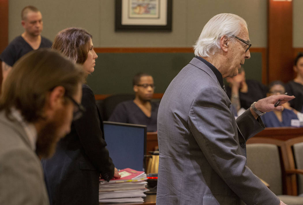 Bill Terry, defense attorney for Christopher Prestipino, speaks during a hearing at the Regiona ...