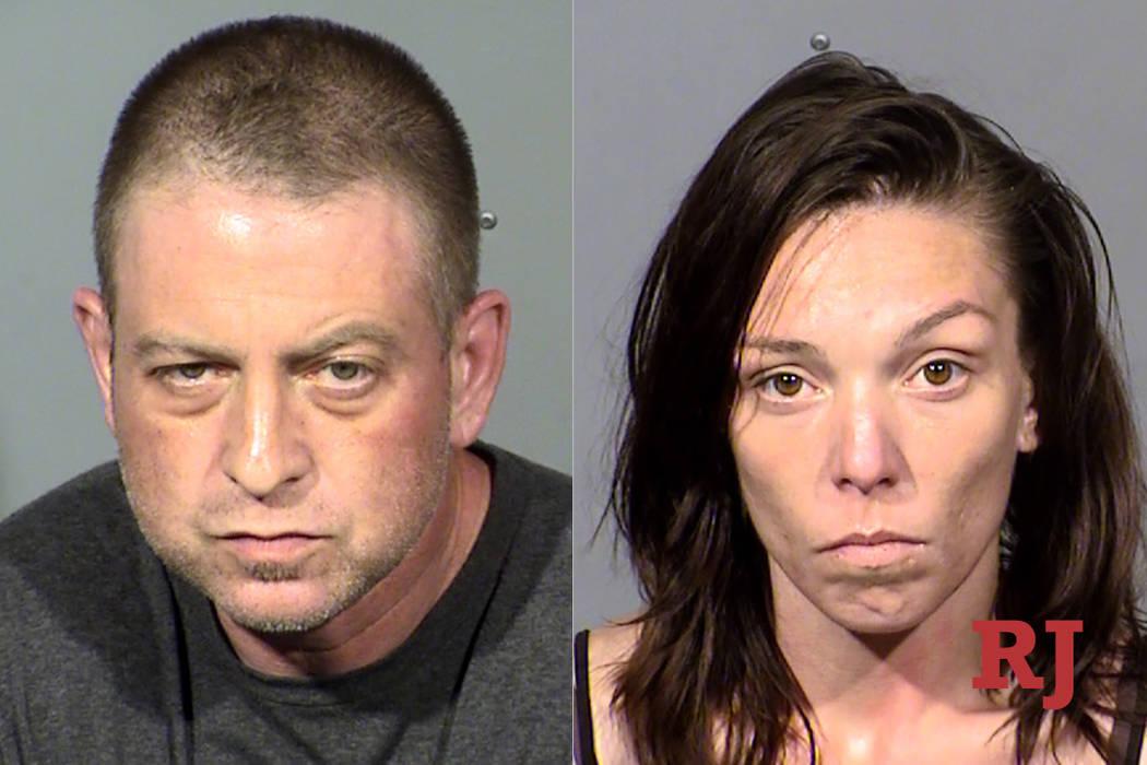 Christopher Prestipino and Lisa Mort (Las Vegas Metropolitan Police Department)