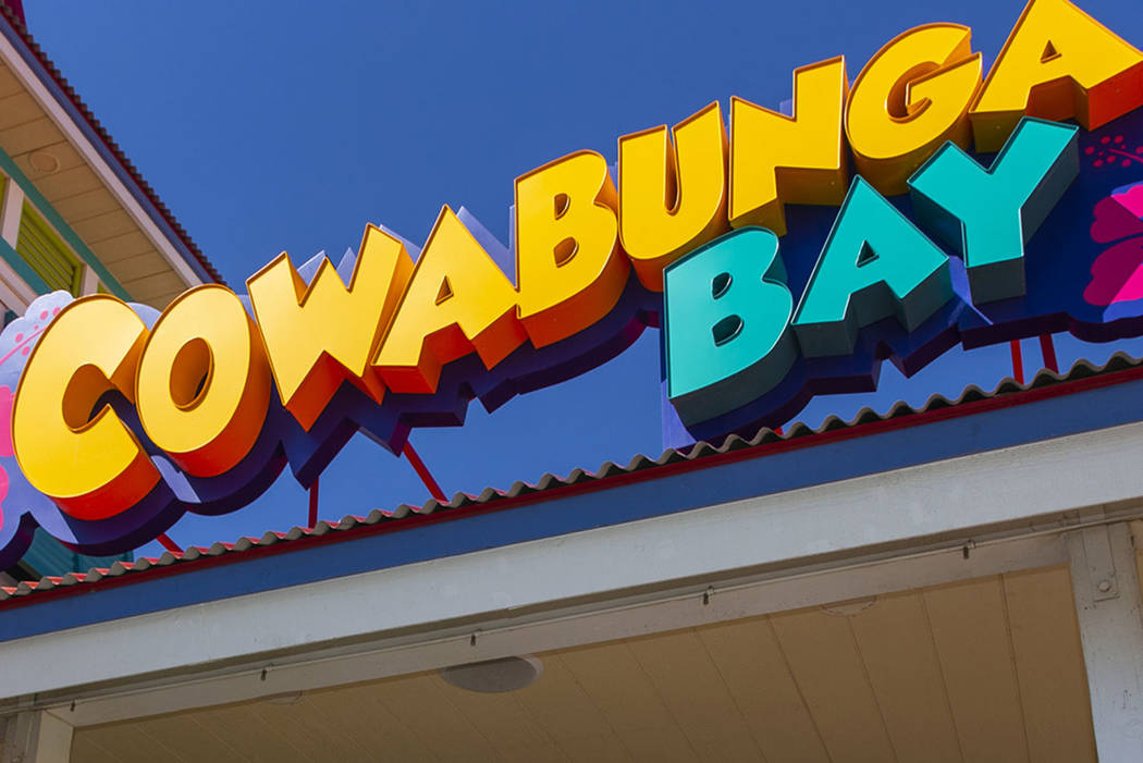 Cowabunga Bay water park in Henderson (L.E. Baskow/Las Vegas Review-Journal)