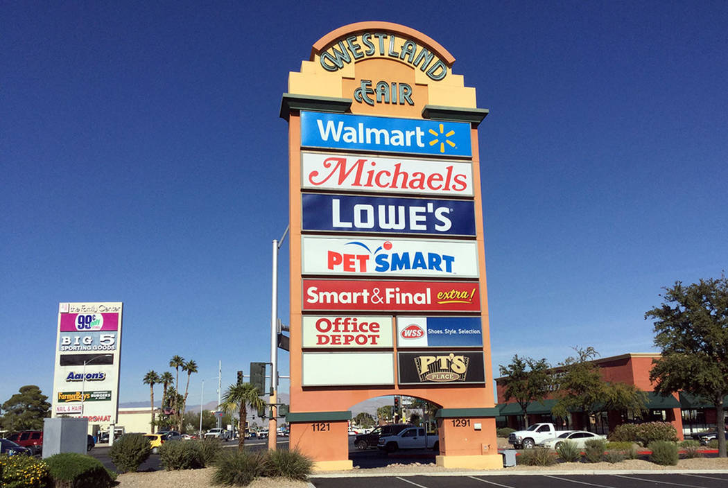 Cannon Commercial purchased more than 214,000 square feet of space at Las Vegas retail plaza We ...