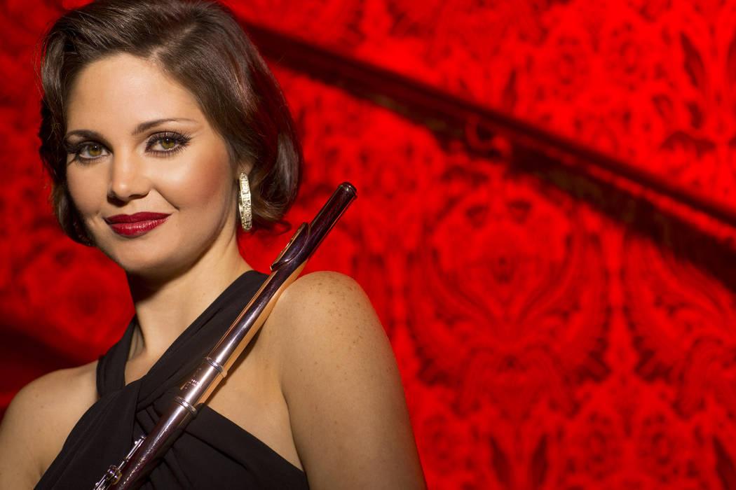 Christina Castellanos, Flute, Las Vegas Philharmonic. (Todd Rosenberg Photography)