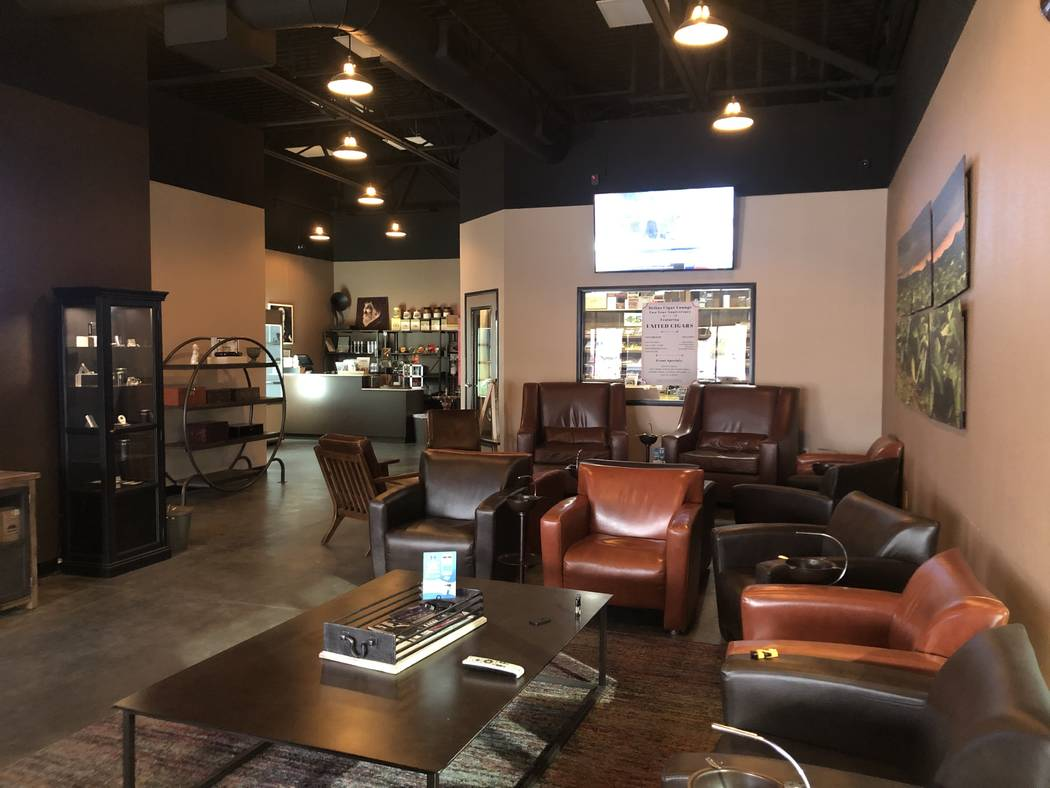 Helios Cigar Lounge caters primarily to locals, as well as visitors who know their Southern Cal ...