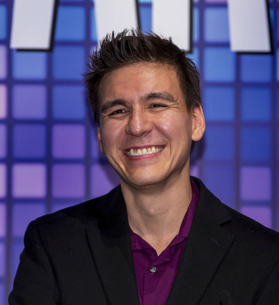 """""""Jeopardy!"""" champion James Holzhauer plays a few rounds for fun with IGT executives a ..."""