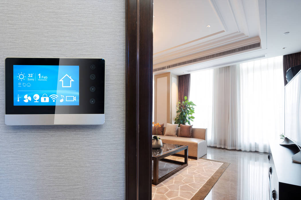 Smart technology controls locks, lighting, and heating and cooling systems in the home. (Getty ...