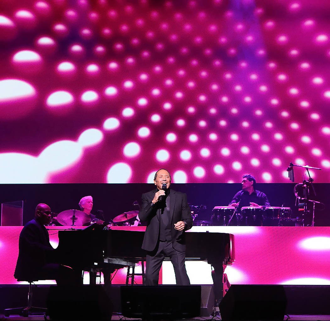Paul Anka has been performing in Las Vegas since a stint at the Sands in the late '50s. (Kirvin ...