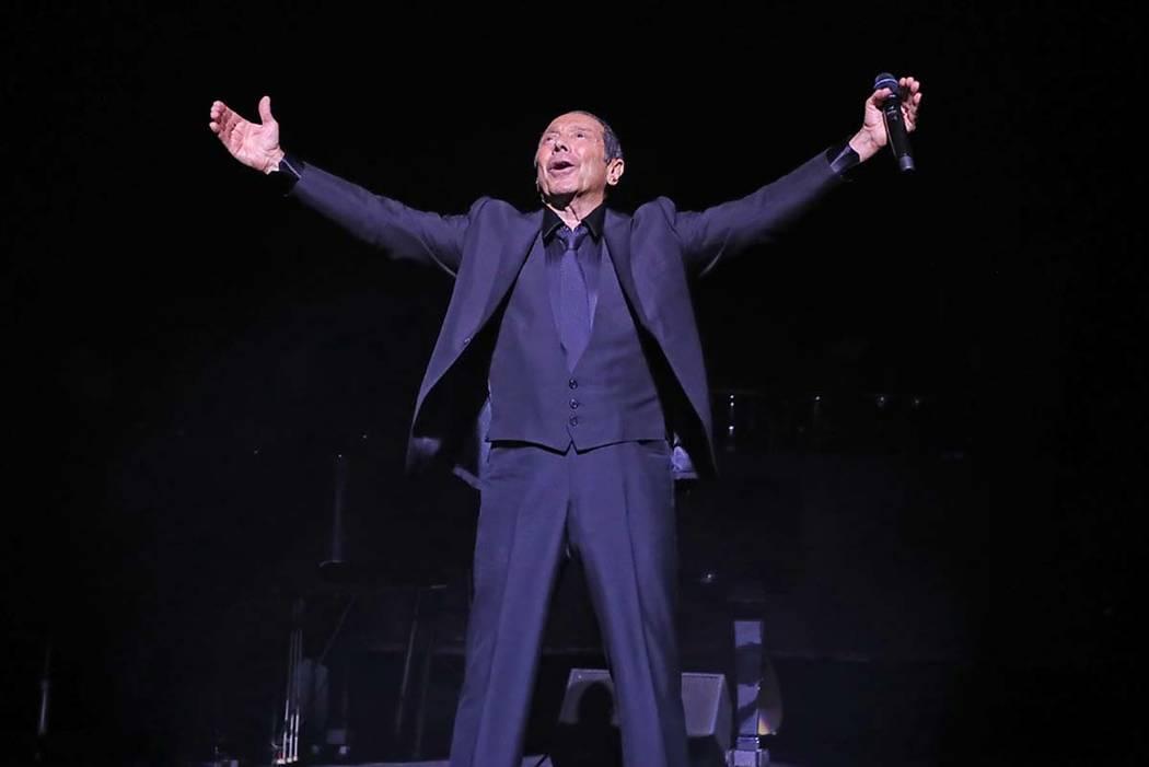 """Among the many hits Paul Anka has penned were the lyrics to Frank Sinatra's """"My Way."""" (Kirvin Doak)"""