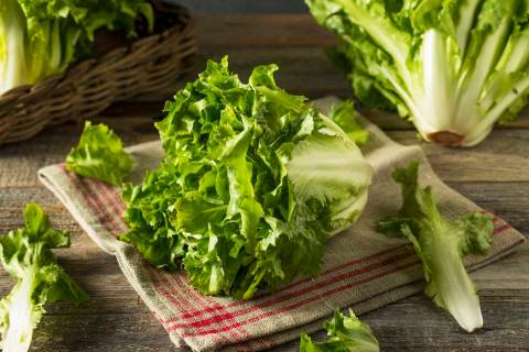 Raw Green Organic Escarole. (Getty Images)