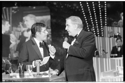 The 15th annual Jerry Lewis Muscular Dystrophy telethon in 1980 ran for 21 1/2 hours at the Sah ...
