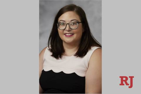 UNLV communication studies assistant professor Natalie Pennington (Josh Hawkins/UNLV creative s ...