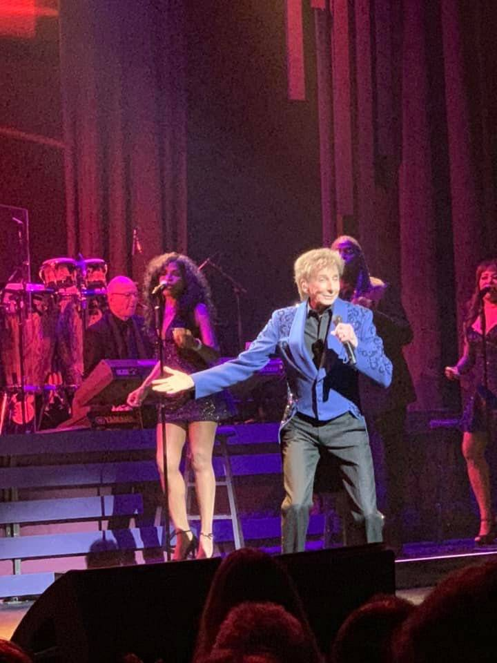 Barry Manilow performs Saturday, Aug. 17, 2019, at the Lunt-Fontanne Theatre on Broadway in New ...
