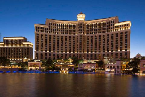 The Bellagio on the Las Vegas Strip has been purchased by the Blackstone Group. (Las Vegas Revi ...