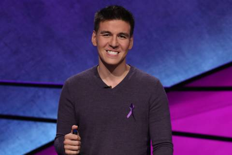 "Las Vegan James Holzhauer will take on Ken Jennings and Brad Rutter in ""Jeopardy! The Greates ..."