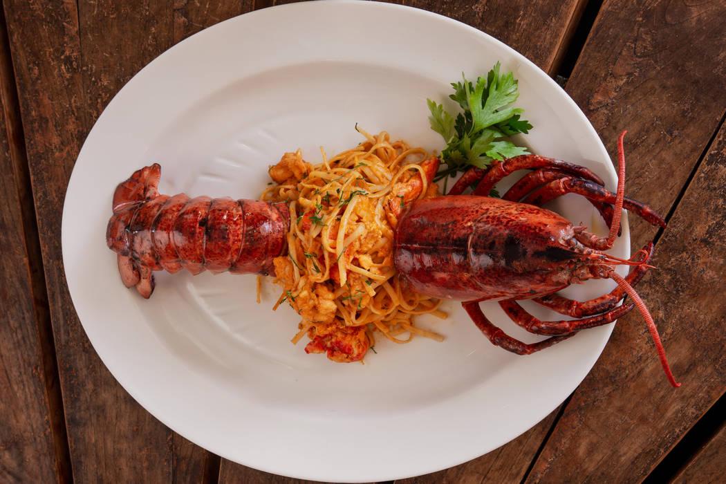 Lobster pasta (Adam Frazier)